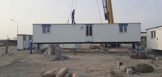 تامین و احداث تجهیز کارگاه در جزیره لاوان، توسط مهندسین مشاور هندسه پارس