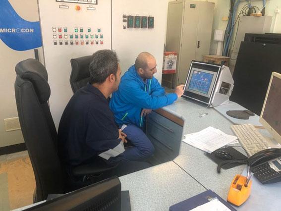 بازرسی تجهیزات ایمنی اسکله توسط کارشناسان متخصص